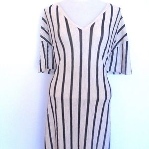 Zara Knit Stripe Long Dress